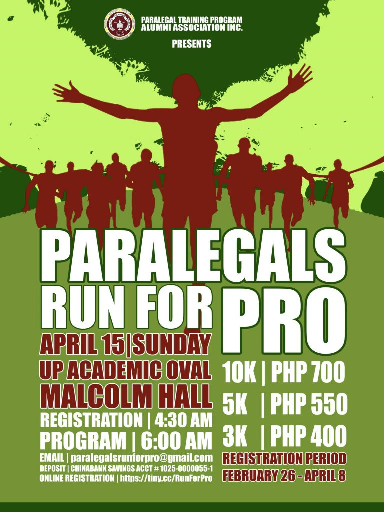 Paralegals: Run for PRO – University of the Philippines Law